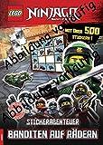 LEGO® NINJAGO® - Stickerabenteuer – Banditen auf Rädern