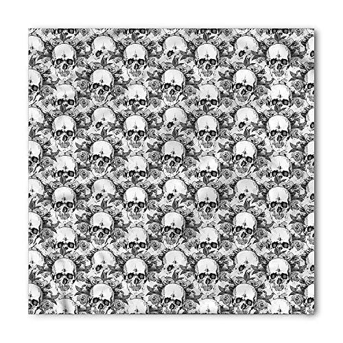 en Bandana, Skelettmuster, Unisex Kopf und Krawatte Stirnband Kopf wickeln ()