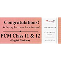 100 Topic Wise tests For PCM Combo Pack Class 11 & 12 [Download: Registration Code]