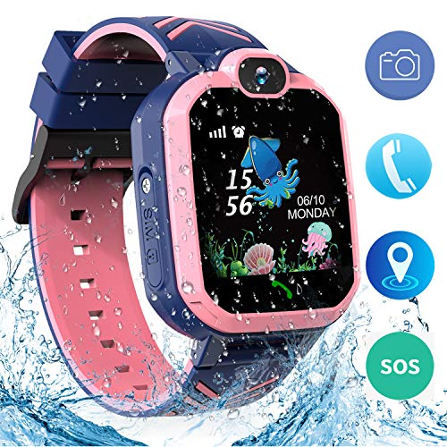 Jaybest Niños SmartWatch Phone -Niños Impermeable