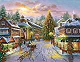 Springbok Seasonal Delights Christmas Eve 1000 Pc Jigsaw Puzzle. by Seasonal Delight