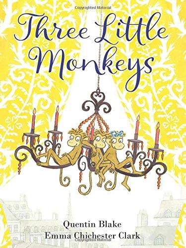 Three Little Monkeys por Quentin Blake