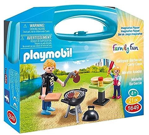 PLAYMOBIL Family Fun–Koffer Grill