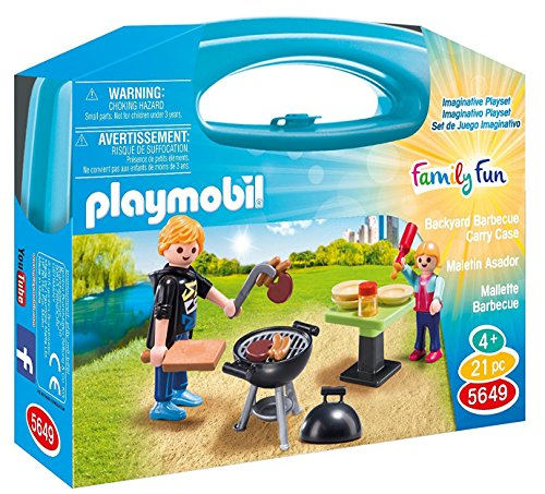 PLAYMOBIL Family Fun–Koffer Grill (5649) (Grill Centro)