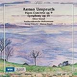Urspruch:Piano Conc 9;Sym 14 [Oliver Triendl; Nordwestdeutsche Philharmonie ; Georg Fritzsch; Marcus Bosch] [Cpo: 555194-2]