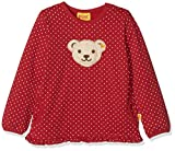 Steiff Baby-Mädchen Sweatshirt 1/1 Arm, Rot (Allover|Multicolored 0003),80