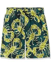 Speedo 8-07857A174L - Traje de baño, color Azul (Navy/Green Dust/Wild Lime), talla L