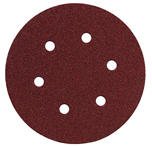 Tools Centre Hook & Loop Sanding Disc Dia 150mm Grit 400 For Polishing (5nos)