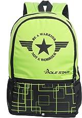 """POLE STAR """"HERO"""" 32 Lt Green Black Casual Backpack I bagpack"""