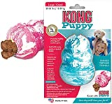 KONG Puppy Dog Toy - Small, Blue/Pink