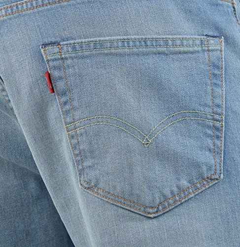 Levi's Herren Jeans 504 Regular Straight Fit Blau