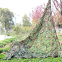 Yosoo malla de camuflaje de bosque selva Militar Camping Caza camuflaje protector solar Net 39* 781mx2m