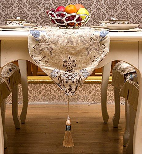 Sucastle 35x180cm Tuch Tischläufer Hochzeit Tischband ,abwaschbar (Farbe...