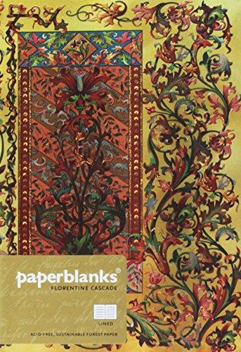 Paperblanks - Florentiner Kaskade Toskanische Sonne - Notizbuch Midi Liniert -