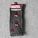 Chaussettes Crew : Marvel Comics Avenger Captain America Cartoon Chaussettes Batman Superman Iron Man Hulk Chaussettes Homme Future Coton Homme Spiderman