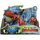 Cómo entrenar a tu dragón - Dragón Garfios y Vikingo Patán Mocoso, Dragons Hookfang (