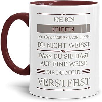 """Mug Lustig Büro Cup Arbeit Fun Spruch-Tasse /""""Geduld?/"""" Witzig"""