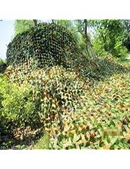 VStoy Filet de Camouflage militaire Woodlands feuille 2 m X 3 m
