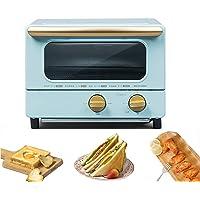 JEANMISS Mini Four, Four Grille-Pain, Petit Four, Ramasse-Miettes Amovible, 1000 W, 10 litres, 2 Interrupteurs Rotatifs…