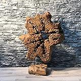 Möbel Bressmer Teak Wurzel Deko Skulptur Unikat 105cm
