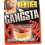 Dientes postizos 'Gangsta'dorado.