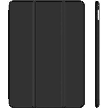 JETech Coque pour iPad Pro 12,9 (1ère et 2ème Génération, Modèles 2015 et 2017), Etui Rabat à Fonction Réveil/Sommeil Automatique, Noir