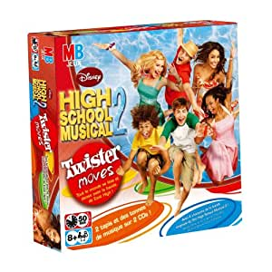 Hasbro - 404751010 - Jeu d'Ambiance - Jeu de Série Tv - Twister Moves High School Musical