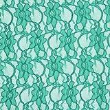 Fabulous Fabrics Spitze klassisch grün — Meterware ab