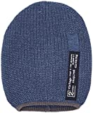 s.Oliver Jungen Mütze 62.610.92.3293, Blau (Middle Blue Knit 57X4), Small (Herstellergröße: 51-53)