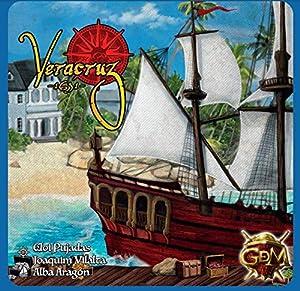 GM Games- Juego de Tablero y Cartas Veracruz 1631, Color Azul (GDM Games GDM129)