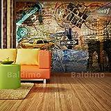 murando - Fototapete 350x270 cm - Vlies Tapete - Moderne Wanddeko - Design Tapete - Wandtapete - Wand Dekoration - New York 10040904-56