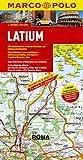MARCO POLO Karten 1:200.000: MARCO POLO Karte Latium