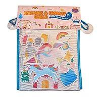 Barney & Buddy BA050 Fantasy World Unicom Bath Stickers, Multi-Colour