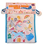 Barney & Buddy ba050, Motiv World Unicom Badewannen-Spielzeug, Mehrfarbig