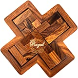 Wooden Jigsaw Puzzle Toys Game For Kids Wooden Toys For Family And Travel Royal Craft Enterprises (Star Puzzle)