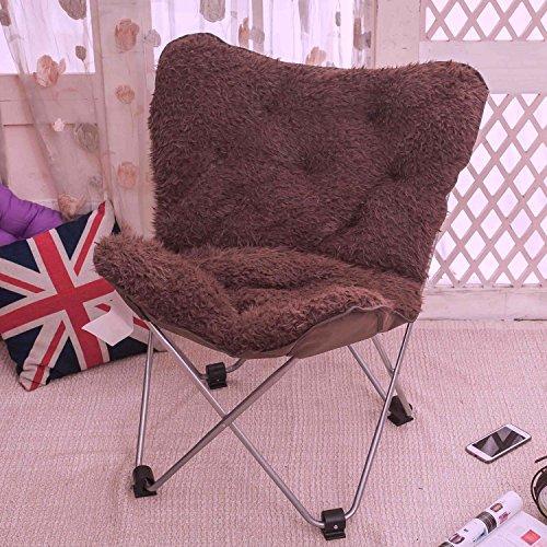 chaise pliante extérieure pliante - Grand adulte chaise de lune chaise de soleil chaise de papillon chaise paresseuse chaise de radar chaise inclinable chaise pliante chaise ronde chaise de sofa