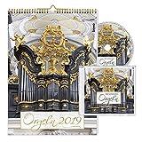 Orgeln 2019 Kalender mit CD Bild