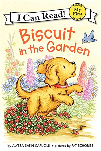 Biscuit in the Garden di Alyssa Satin Capucilli