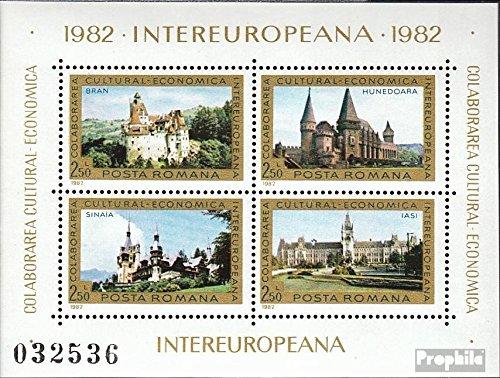 Prophila Collection Rumänien Block186 (kompl.Ausg.) 1982 INTEREUROPA (Briefmarken für Sammler)