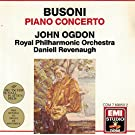 Busoni: Concerto for piano, orchestra and male chorus Op. 39