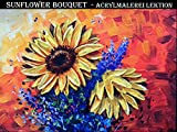 Sunflower Bouquet - Acrylmalerei Lektion