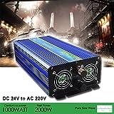 Reiner Sinus Wechselrichter 1000 W/2000 W DC 24 V bis AC 220 V ZA1000