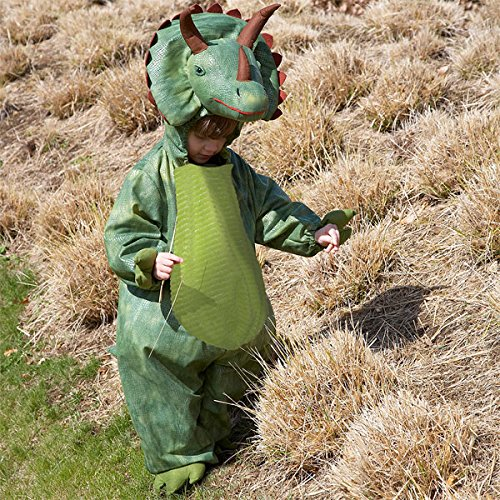 Deluxe Triceratops Dinosaur fancy dress up BNWT 18m-5yrs Halloween Kostuem (3-5 Jahre)