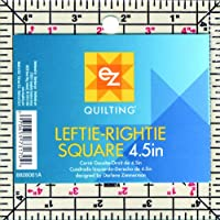 Simplicity 4.5-inch Leftie Rightie Square Acrylic Template, Clear preiswert