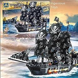 Barco pirata la Perla Negra.