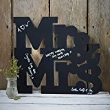 Chalkboard Mr & Mrs Schild