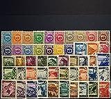 Goldhahn Österreich 1945 postfrisch ** Nr. 721-770 I Briefmarken für Sammler
