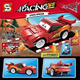 #7: TOY-STATION Lightning McQueen Cars 3 Lego Type Blocks (Multicolour) - Pack of 312 Piece