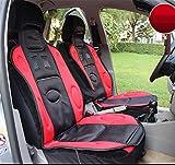RUIRUI Beheizbare Sitzauflage Auto Heizkissen, 12 / 24V Universal Sitzkissen , red , 12V