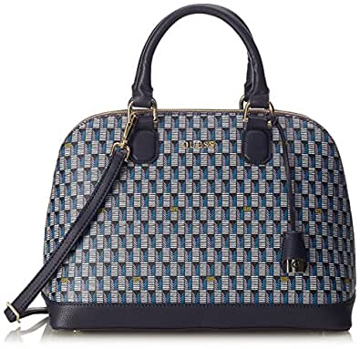 Guess jetset lili dome satchel borse a tracolla blm for Amazon borse guess
